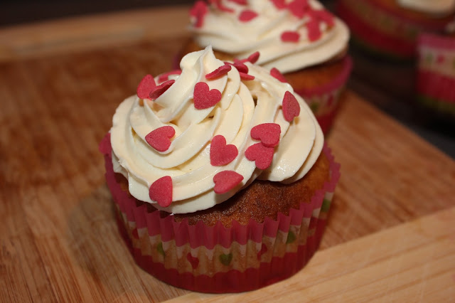 Recette de cupcakes à la rhubarbe