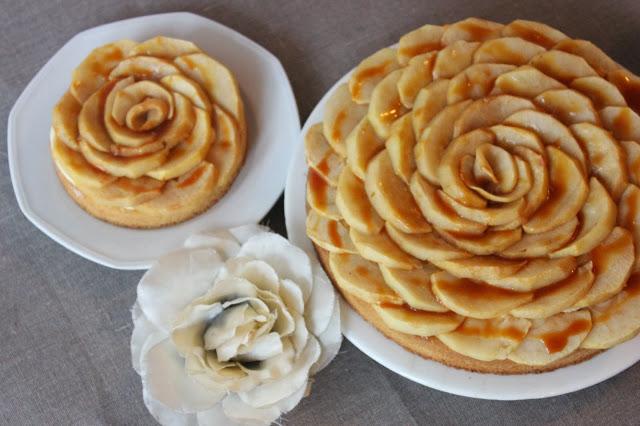 Sablé breton pomme et caramel