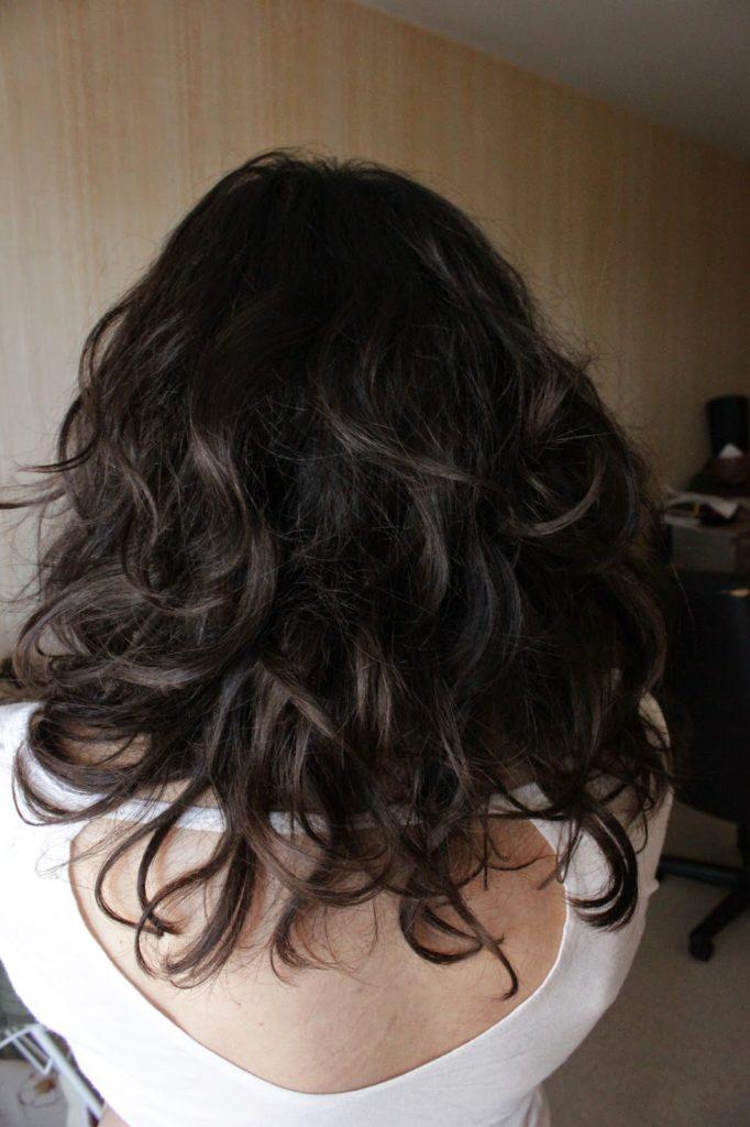 cheveux ondulés soins bio