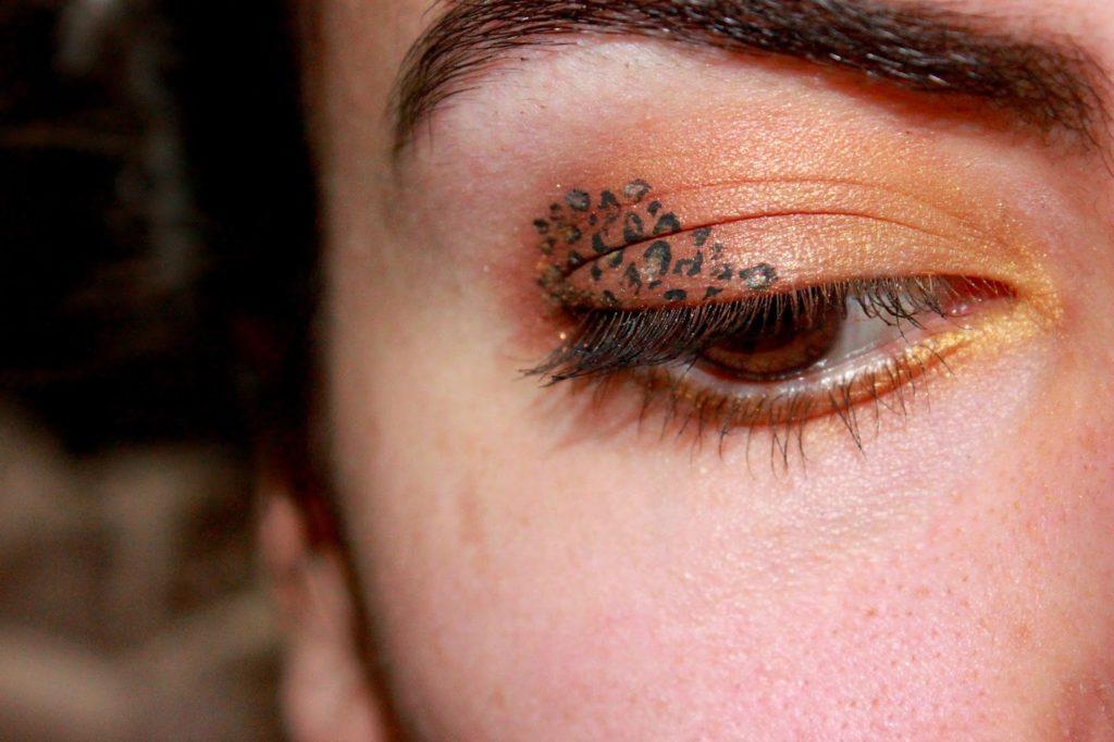 maquillage léopard