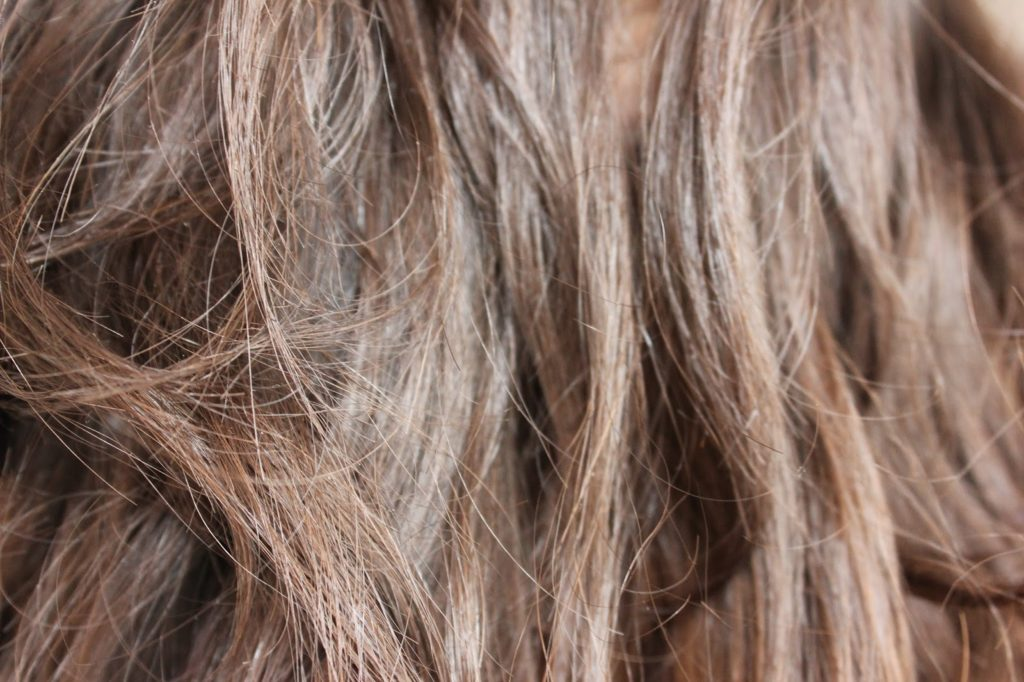 Cheveux et henné avant après