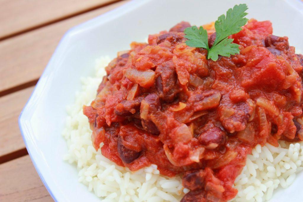 Recette facile de chili sans viande