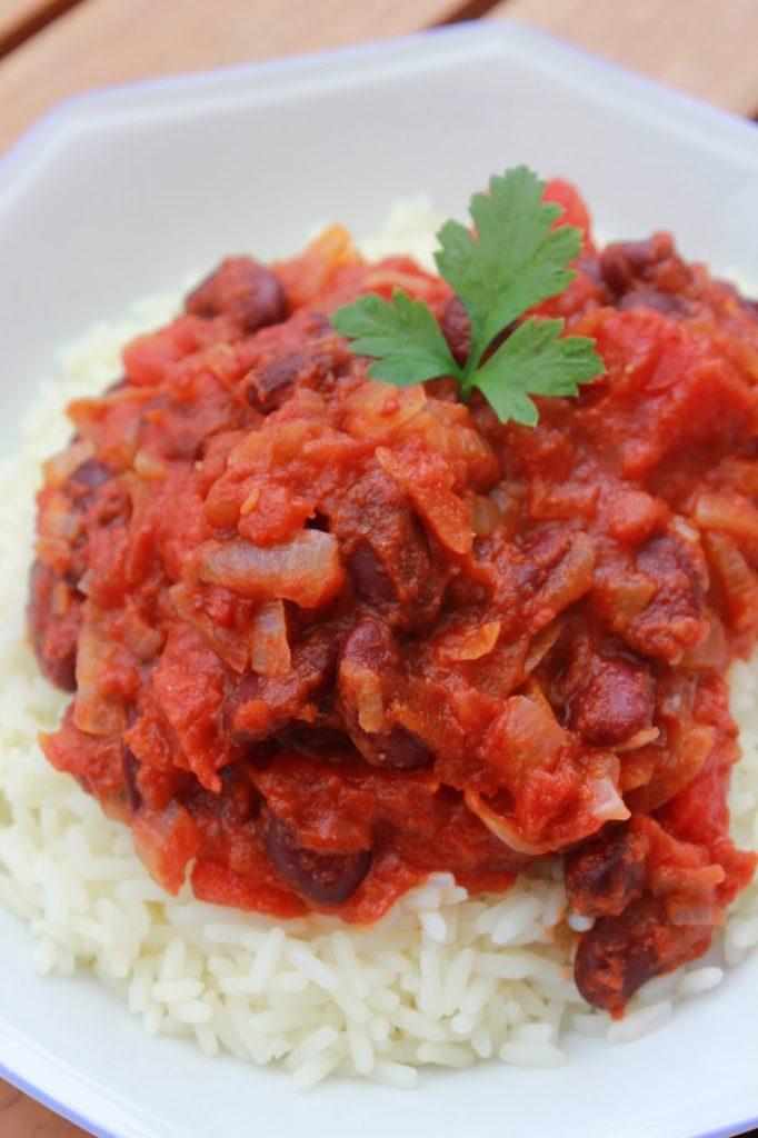 Recette de chili sans viande