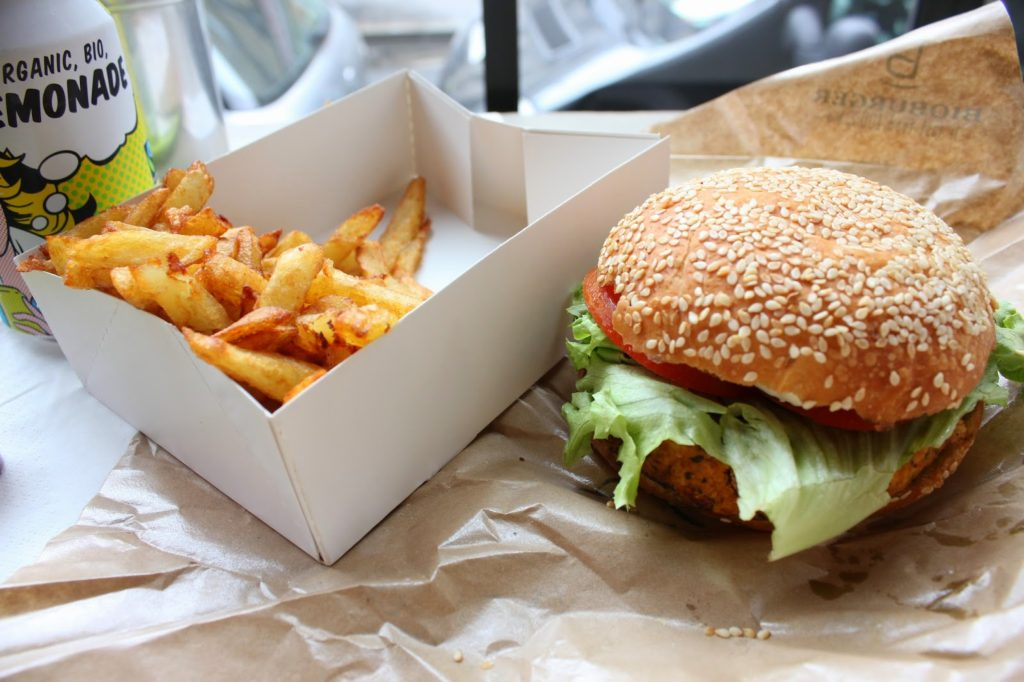 Menu bioburger