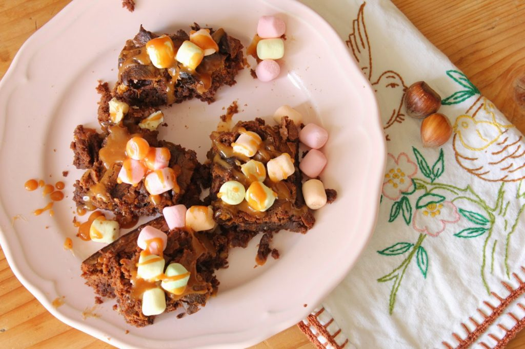 Rocky road aux marshmallows
