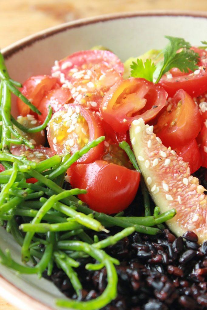 Cuisiner le riz nérone en salade