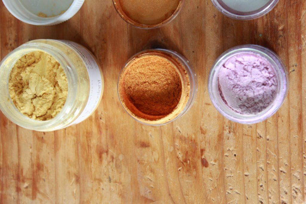 Micas de couleur de chez aroma zone