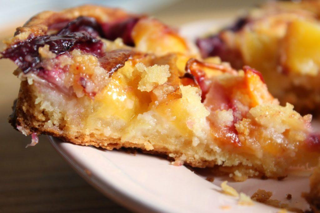 tarte amandine aux prunes