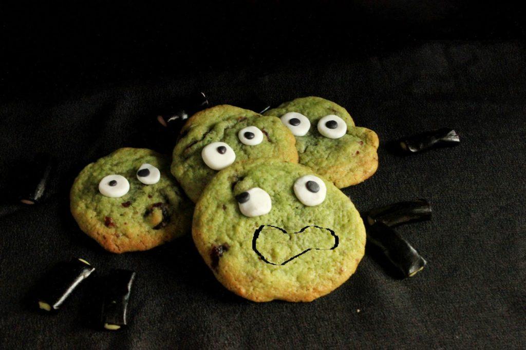 Cookies petits monstres Halloween