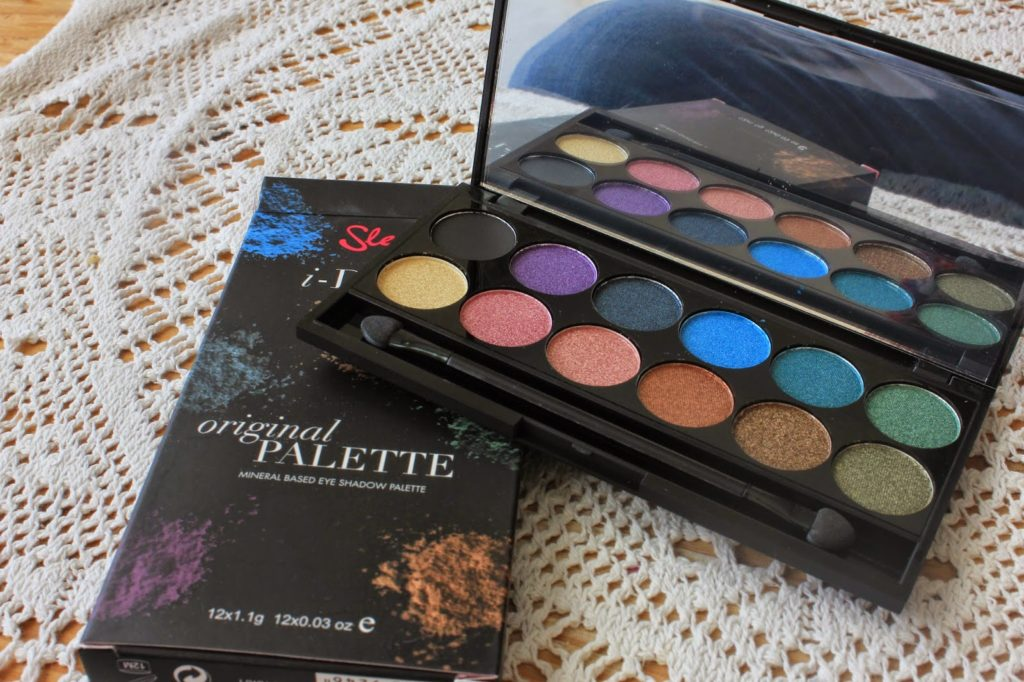 couleurs de la palette original de sleek makeup