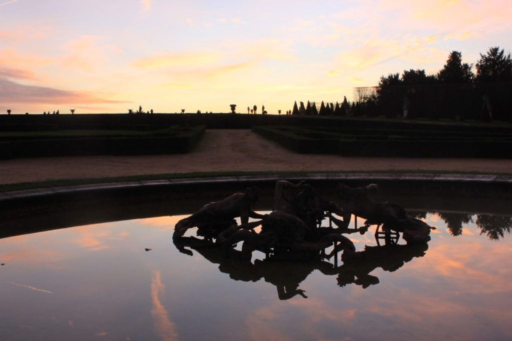 Pièce d'eau du château de Versailles