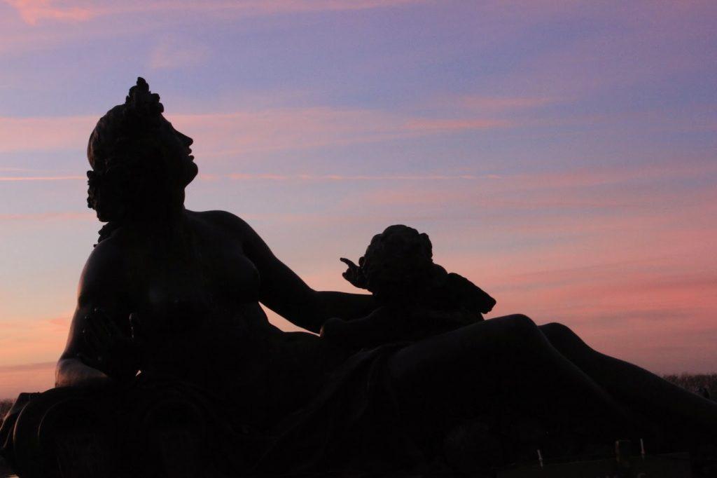 Statues jardin du château de Versailles