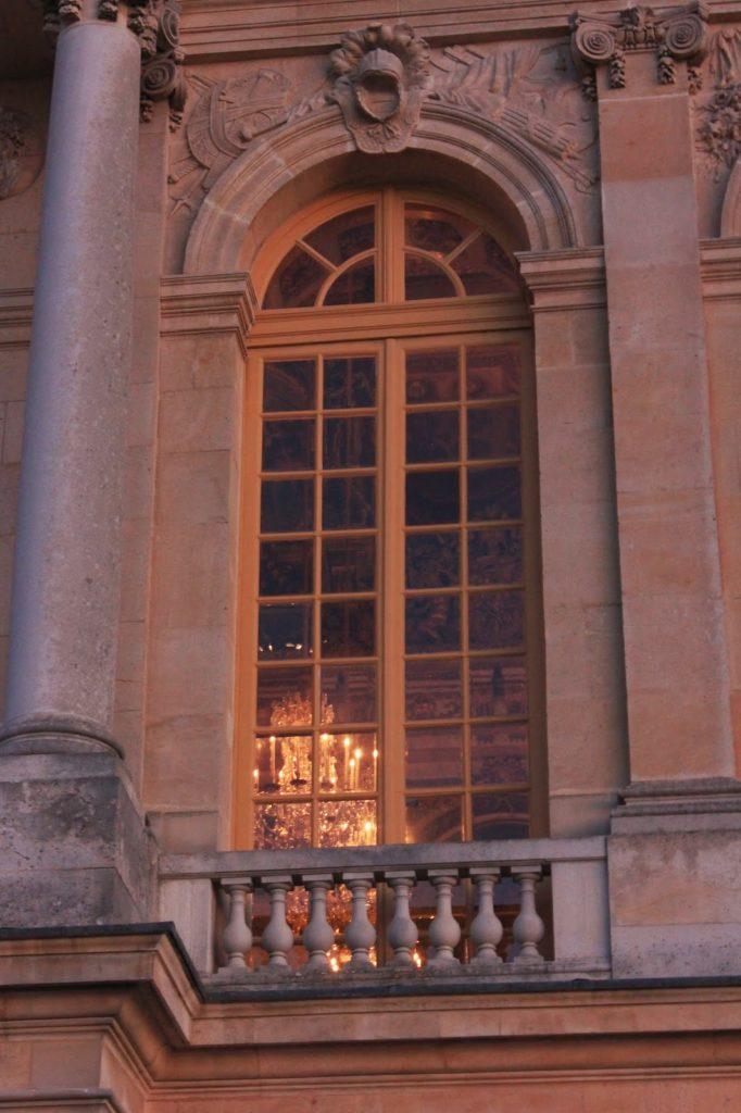 Fenêtres du château de Versailles