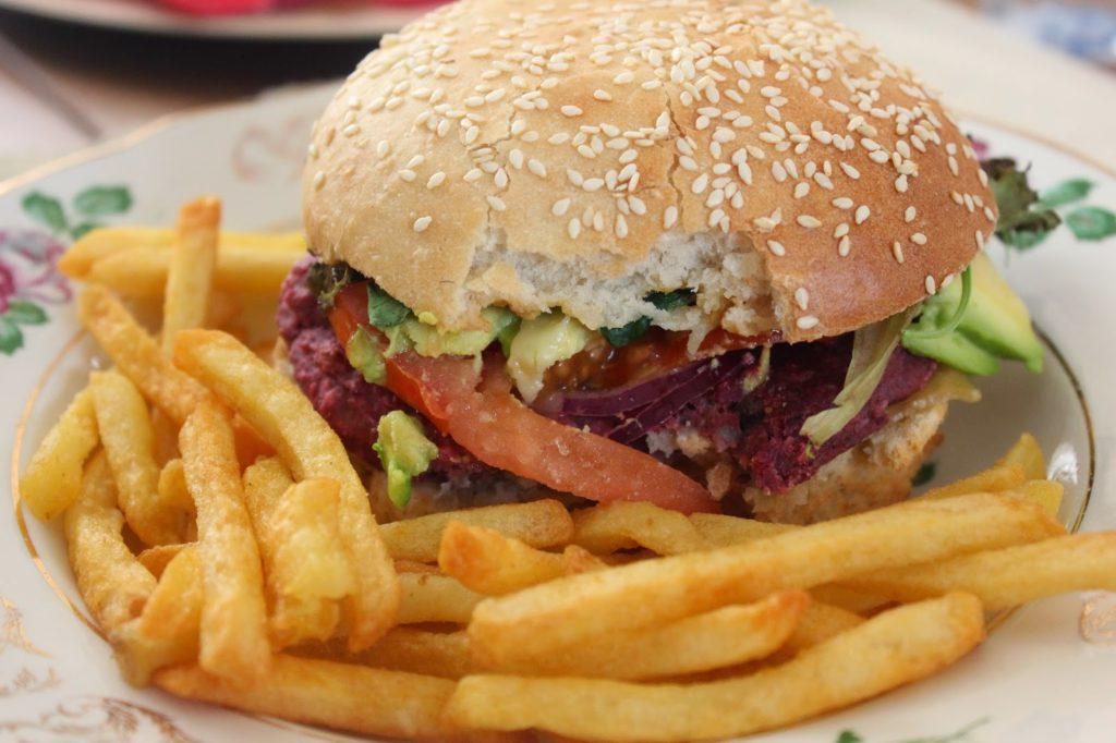 Recette de burger sans viande