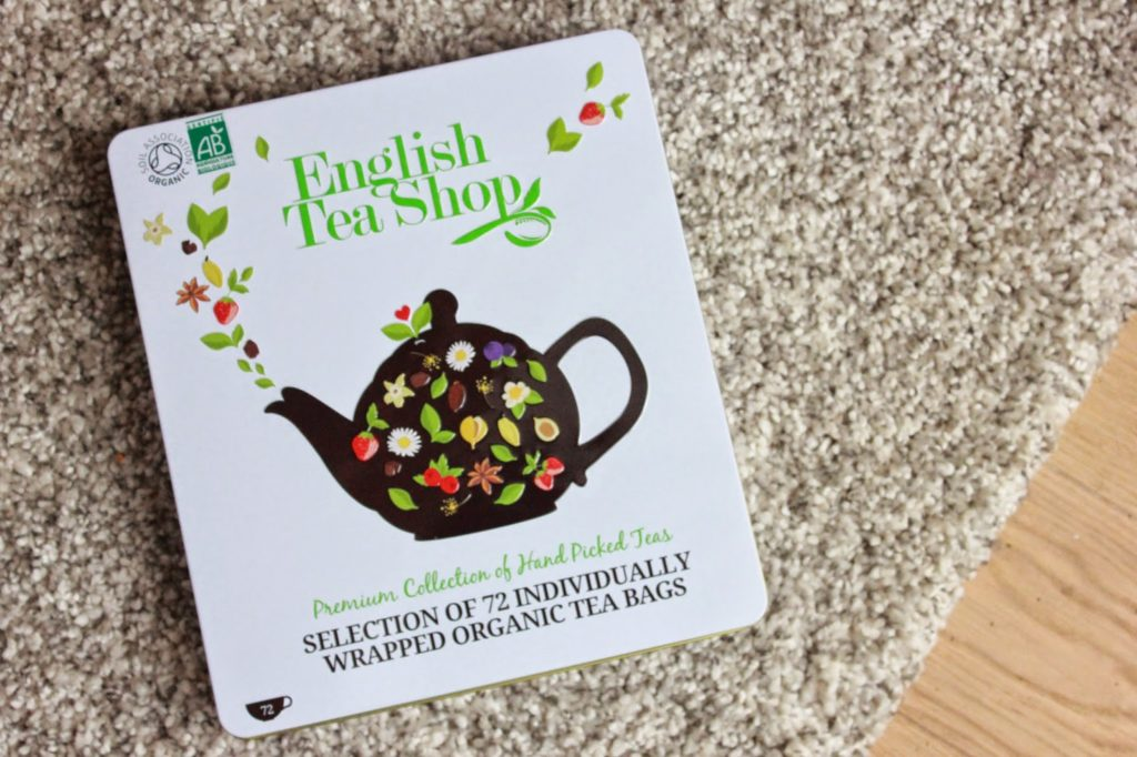 Coffret de thés english tea shop
