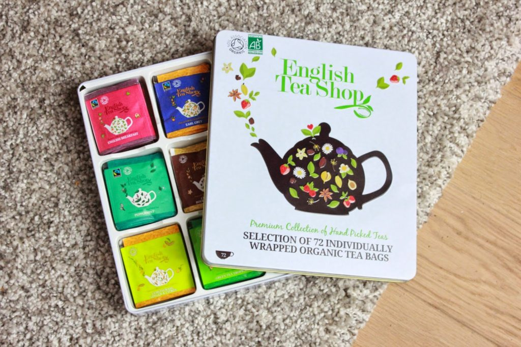 Assortiment english tea shop
