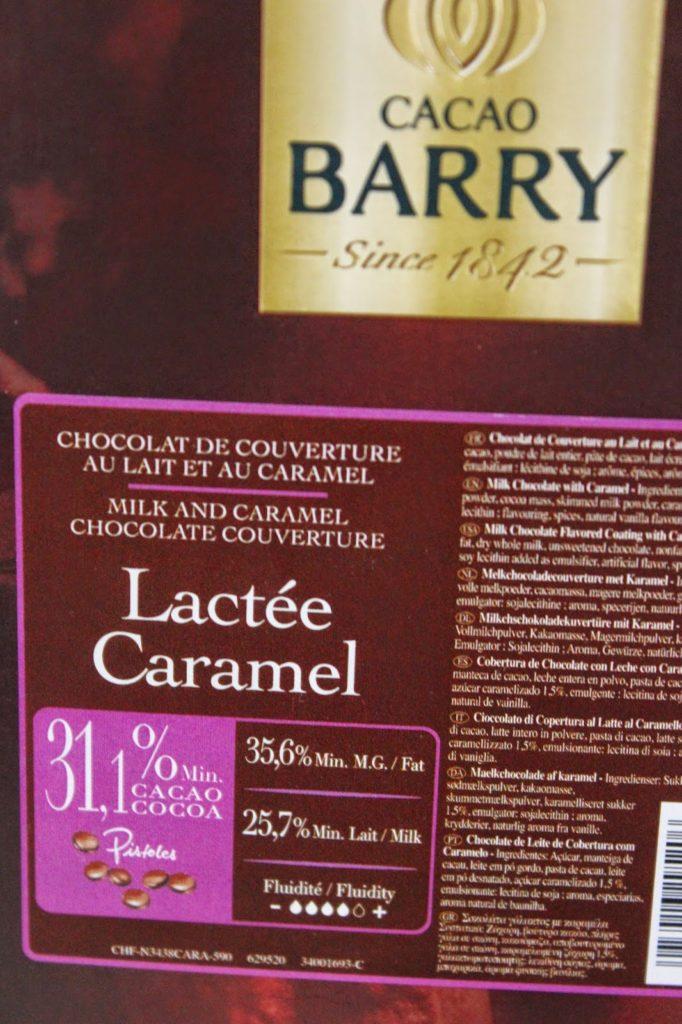 Couverture lactée caramel Barry