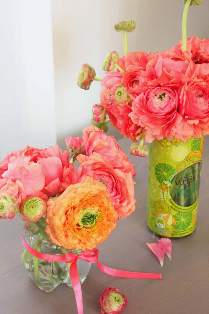 Vases à partir de bouteilles