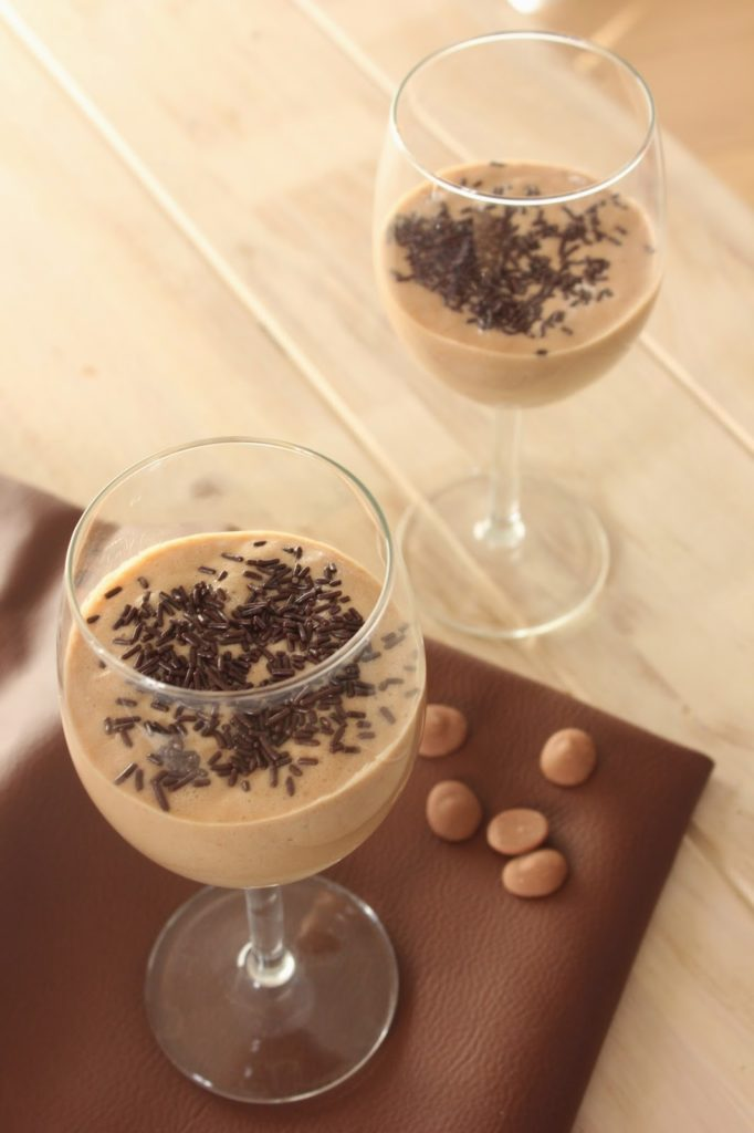 Mousse au chocolat aquafaba