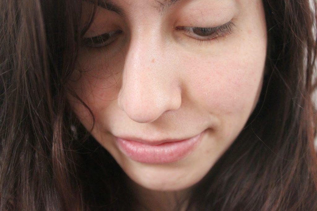 Visage sans maquillage