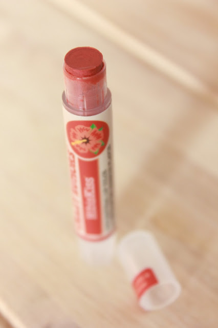 Baume à lèvres teinté vegan