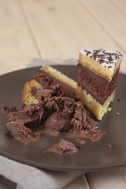 Napolitain au chocolat