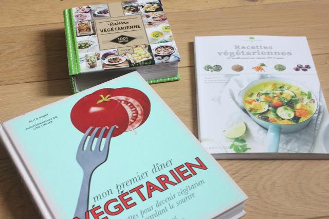 Idées de livres pour végétarien