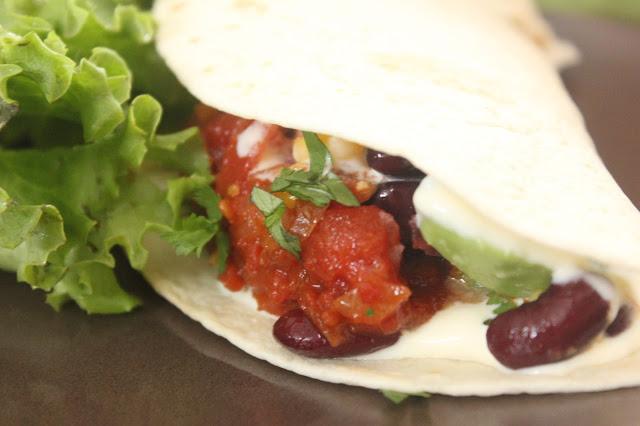 Recette de garniture tacos végétariens