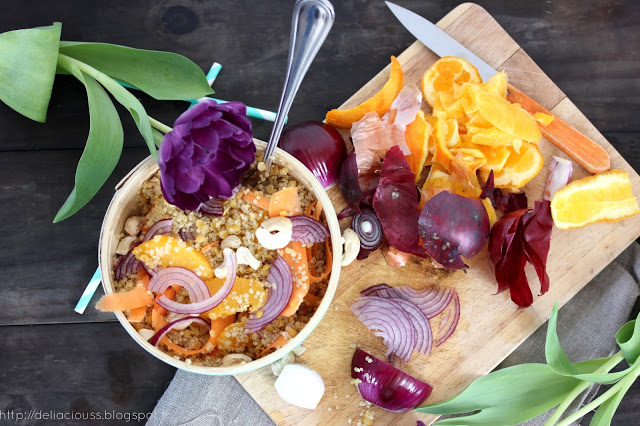 Salade de quinoa d'hiver