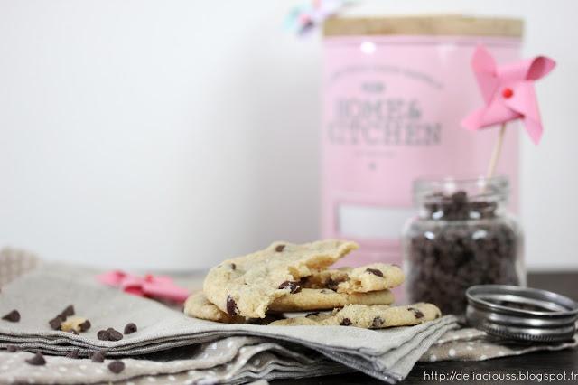 Cookies vegan chocolat