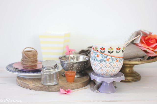 Stylisme culinaire vaisselle