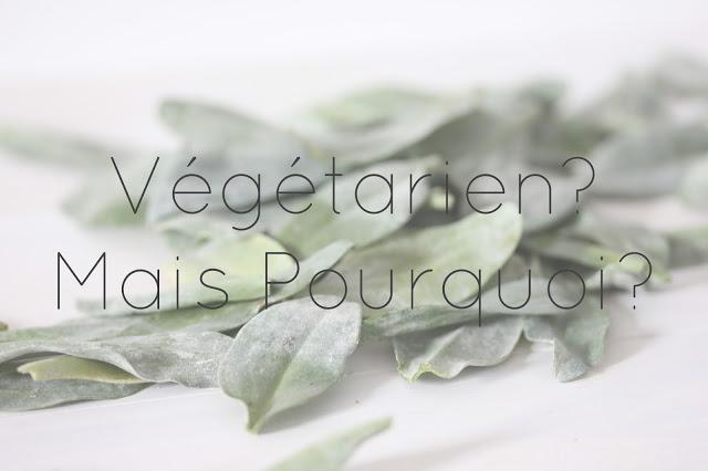 Pourquoi devenir végétarien?
