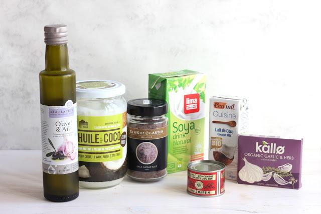 Produits vegan au quotidien