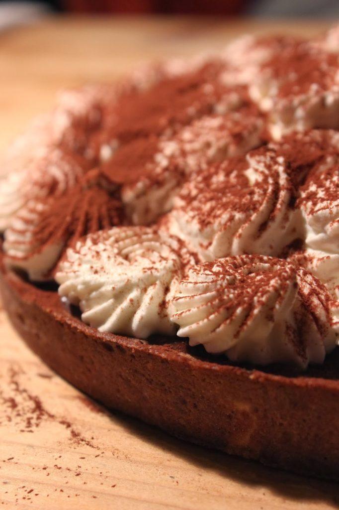 Recette tarte au chocolat liégeois