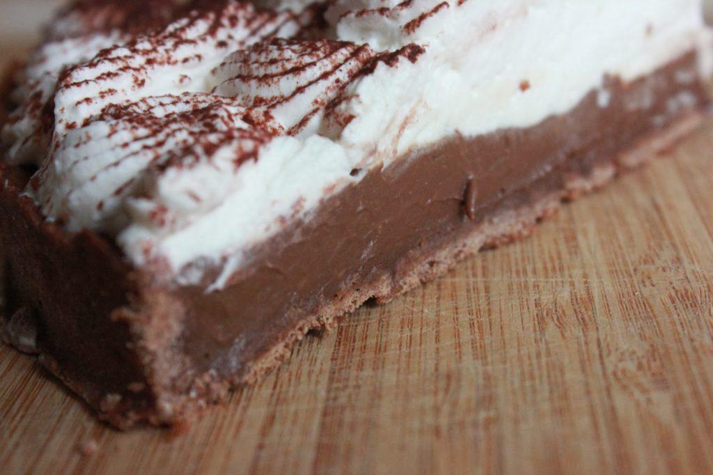 Tarte pâte au cacao