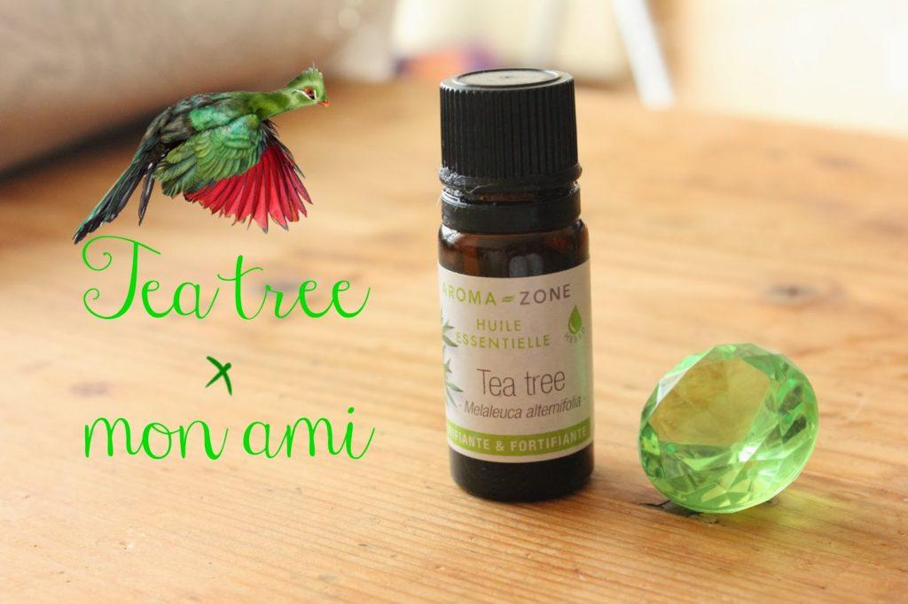 huile essentielle de tea tree boutons