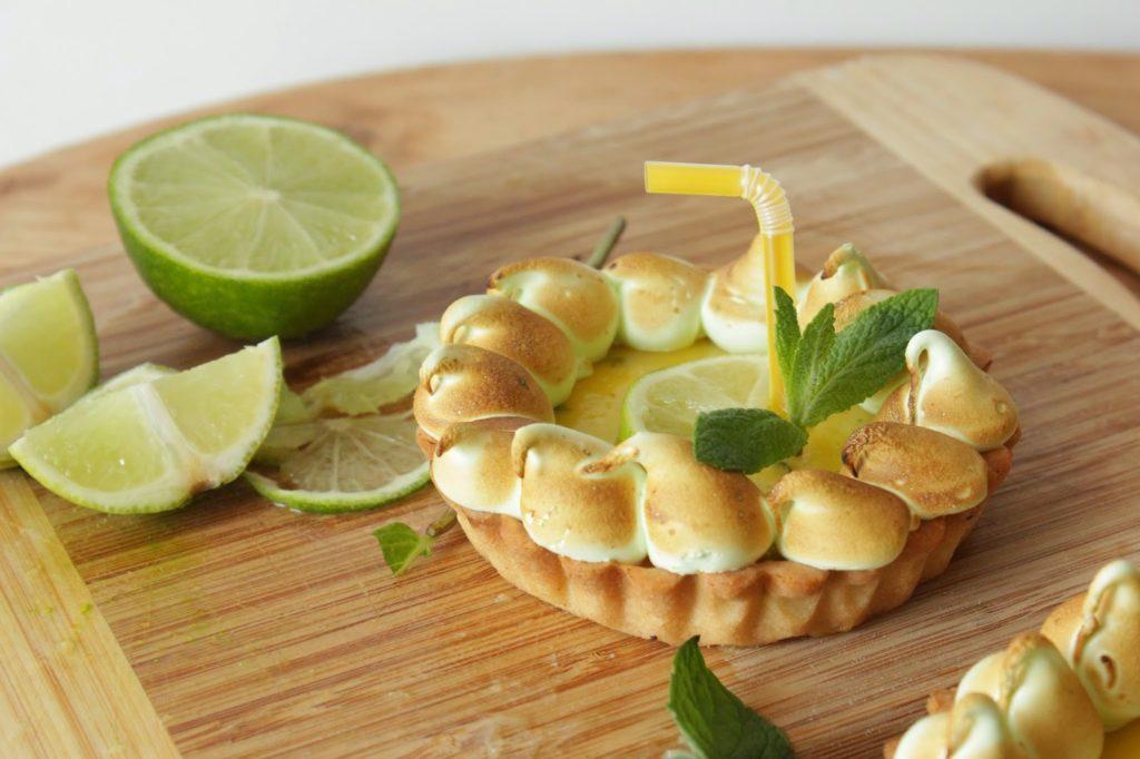Dessert façon mojito