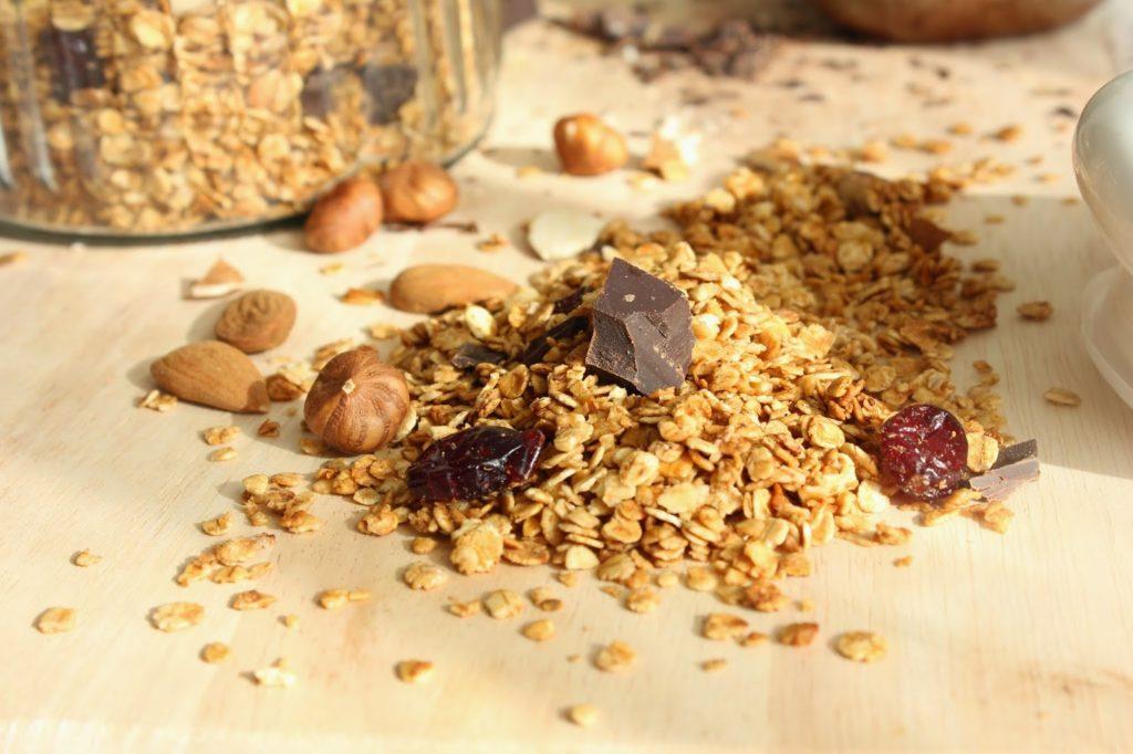 Recette de base du granola maison