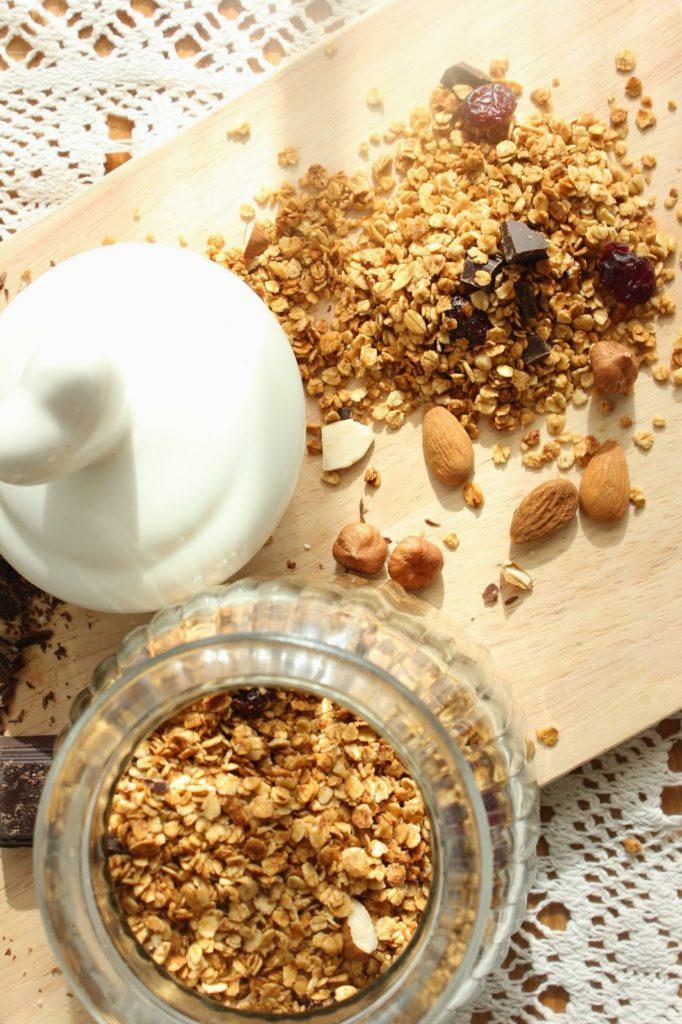 granola maison aux flocons d'avoine
