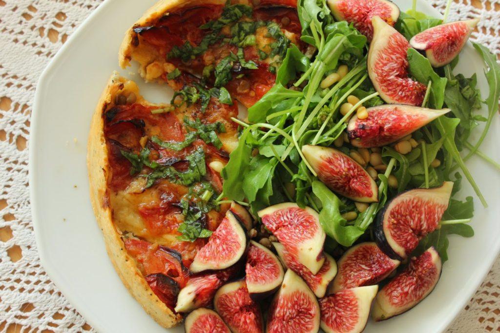 Tarte tomate et mozzarella sans gluten