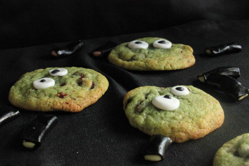 cookies avec des yeux
