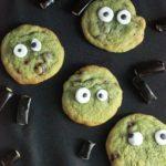 Cookies d'halloween à la pistache