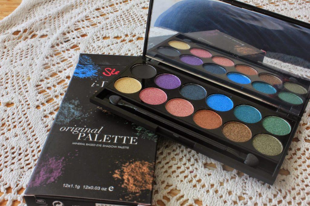 couleurs de la palette original de sleek makeup