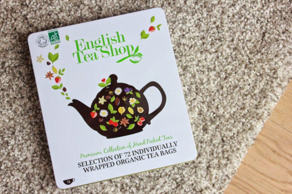 Coffret de thés english tea shop