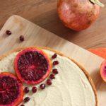 Tarte orange sanguine cheesecake