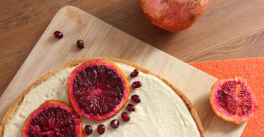 Tarte orange sanguine cheesecake