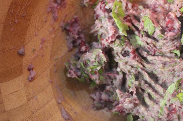 Recette de boulettes avec des haricots rouges