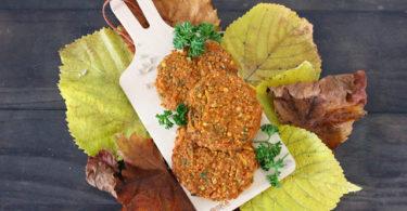 galettes végétales butternut et quinoa