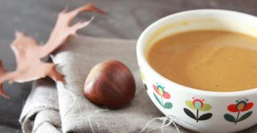 Velouté chataigne, butternut et céleri