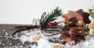 Biscuit cacao clémentine